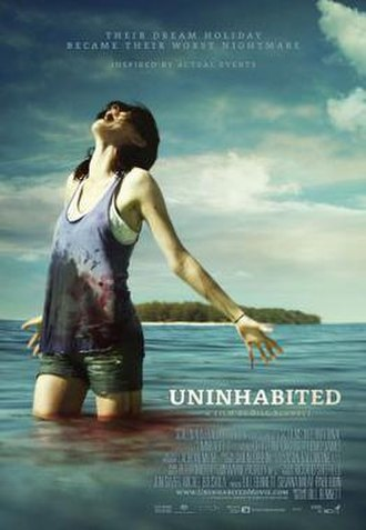 Uninhabited (film) - Theatrical film poster