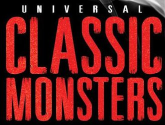 Universal Classic Monsters - Official franchise logo as displayed on home video releases