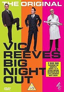 <i>Vic Reeves Big Night Out</i> Cult British comedy stage show and TV series