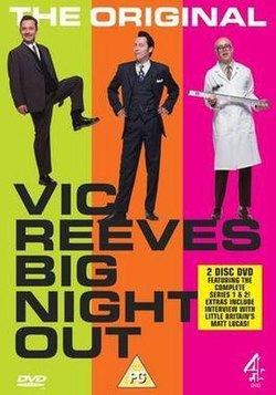 Vic Reeves Big Night Out DVD cover
