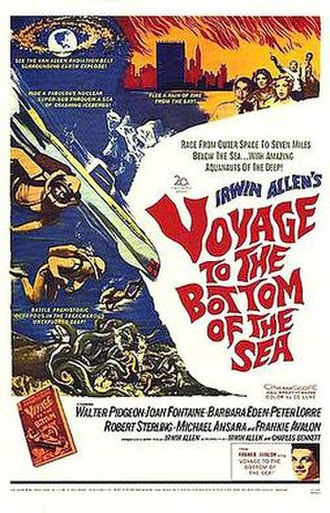 Voyage to the Bottom of the Sea - Theatrical release poster