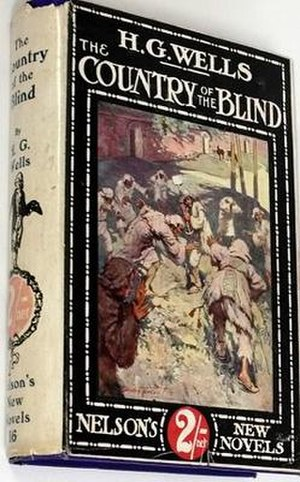 The Country of the Blind - First edition cover of The Country of the Blind and Other Stories (1911)