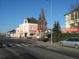 Windhof - Windhof, Luxembourg: Centre of the village