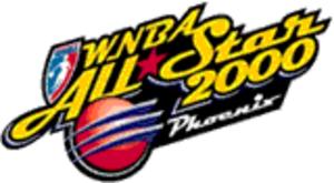 2000 WNBA All-Star Game - Image: Women's National Basketball Association (All Star Game, 2000) (logo)