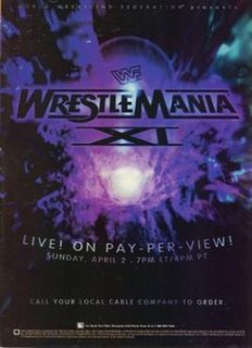 WrestleMania XI 1995 World Wrestling Federation pay-per-view event