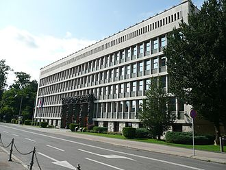 National Assembly Building of Slovenia - National Assembly Building, Ljubljana