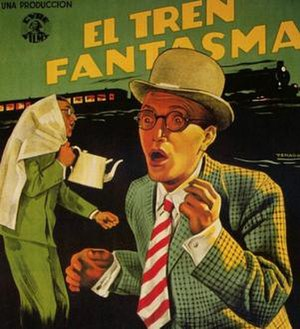The Ghost Train (1941 film) - Detail Spanish theatrical poster