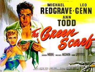 <i>The Green Scarf</i> 1954 film by George More OFerrall