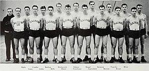 1934–35 Illinois Fighting Illini men's basketball team - Image: 1934 35 Illinois Fighting Illini men's basketball team