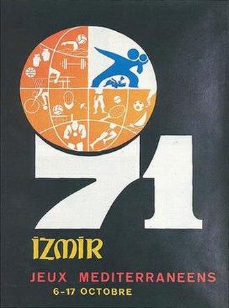 1971 Mediterranean Games - Image: 1971 MG (logo)