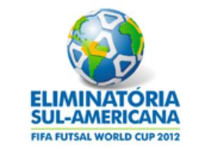 2012 FIFA Futsal World Cup qualification (CONMEBOL) - Image: 2012 FIFA Futsal World Cup qualification CONMEBOL logo
