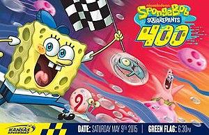 2015 SpongeBob SquarePants 400 - Image: 2015 Sponge Bob Square Pants 400 log
