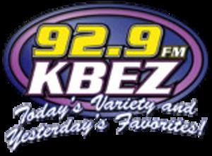 KBEZ - 92.9 KBEZ logo used until 2010.