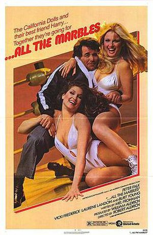 ...All the Marbles - Theatrical release poster