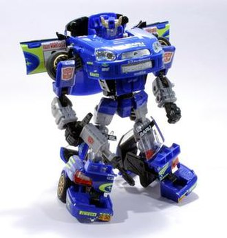 Smokescreen (Transformers) - Smokescreen toy