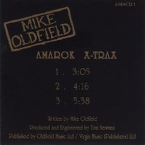Amarok (Mike Oldfield album) - Amarok X-Trax 3 track promo CD from the British retailer W H Smith that was packaged with their in-store magazine, Insight.