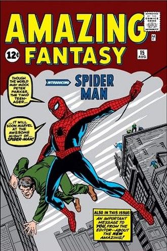 Spider-Man - Image: Amazing Fantasy 15