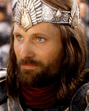 Aragorn - Viggo Mortensen as Aragorn in Peter Jackson's The Lord of the Rings: The Return of the King.