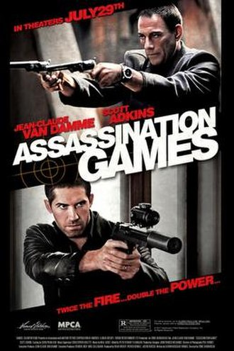 Assassination Games - Theatrical release poster