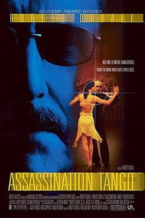 Assassination Tango - Theatrical release poster