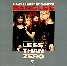The Bangles — Hazy Shade of Winter (studio acapella)