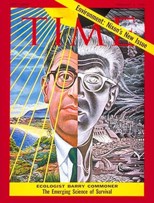 Barry Commoner - Image: Barry Commoner Time Magazine February 2, 1970 Vol 95 No 5