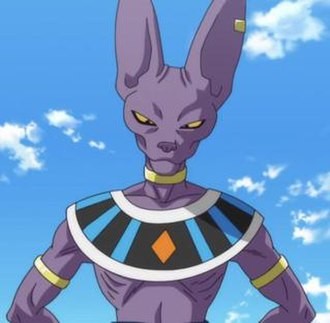 Beerus - Beerus as he appears in Dragon Ball Z: Battle of Gods.