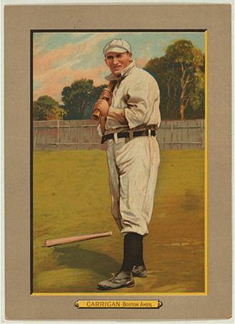 Bill Carrigan - Image: Bill Carrigan Baseball Card