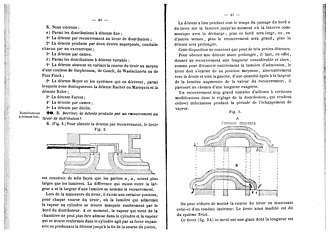 Vinçotte - Two pages from a handbook for drivers and operators of steam machines, published by the association of engineer alumni of Liège (city). Most of the data in the book, however, was provided by Vinçotte and his Association.