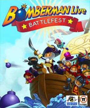 Bomberman Live: Battlefest - Image: Bomberman Live Battlefest Coverart