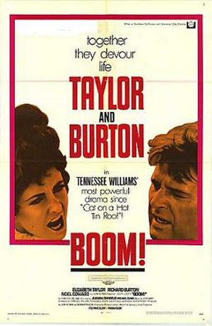 Boom! (film) - Theatrical release poster