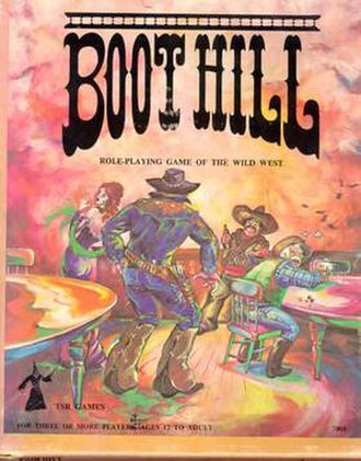 Boot Hill (role-playing game) - Image: Boot Hill