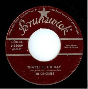 That'll Be the Day - Image: Buddy holly that'll be the day 45