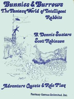 <i>Bunnies & Burrows</i> Fantasy roleplaying game