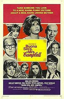 <i>Buona Sera, Mrs. Campbell</i> 1968 film by Melvin Frank