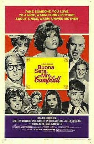 Buona Sera, Mrs. Campbell - Original poster