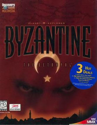 Byzantine (video game) - Image: Byzantine (video game) cover