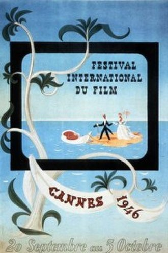 1946 Cannes Film Festival - Image: CFF46poster