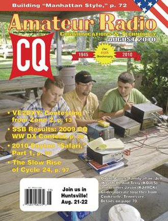 CQ Amateur Radio - August 2010 Cover