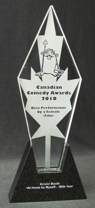 Canadian Comedy Awards - 2010 trophy