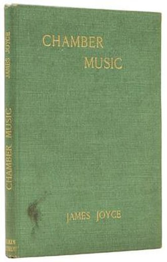 Chamber Music (poetry collection) - First edition