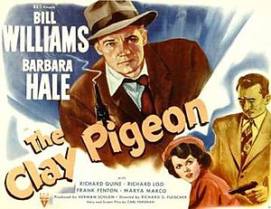 The Clay Pigeon - Theatrical release lobby card
