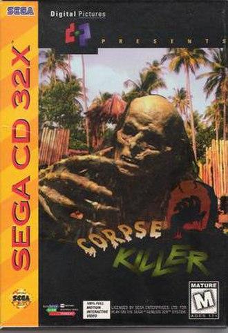 Corpse Killer - Image: Corpse Killer for Sega 32X, Front Cover