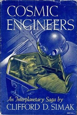 Cosmic Engineers - Cover of first edition (hardcover)