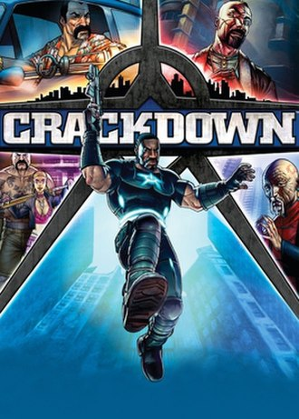 Crackdown - Image: Crackdownfinalbox