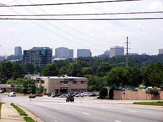 Metropolitan area in Georgia, United States