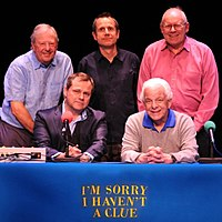 I'm Sorry I Haven't a Clue panel, including Jeremy Hardy and Jack Dee