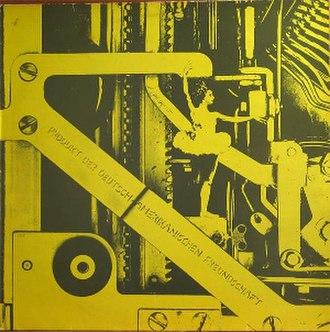 Ein Produkt der Deutsch-Amerikanischen Freundschaft - Image: DAF Ein Produkt der Deutsch Amerikanischen Freundschaft LP sleeve