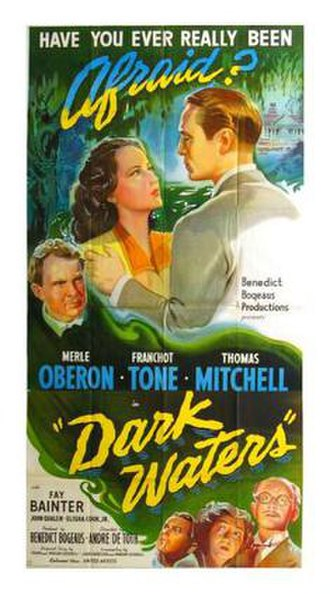Dark Waters (1944 film) - Theatrical release poster