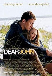<i>Dear John</i> (2010 film) 2010 film by Lasse Hallström